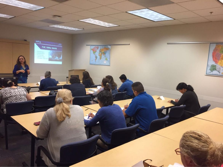 MIRA USA realizó el sexto y último taller sobre educación cívica en Atlanta, GA