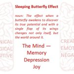 Sleeping Butterfly Effect: The Mind - Memory, Depression, Joy