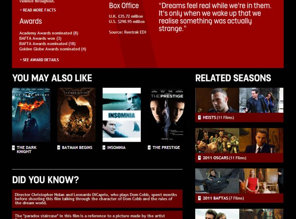 Film4oD - Film page - middle