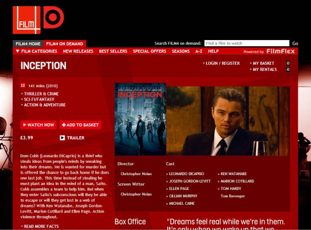 Film4oD - Home page