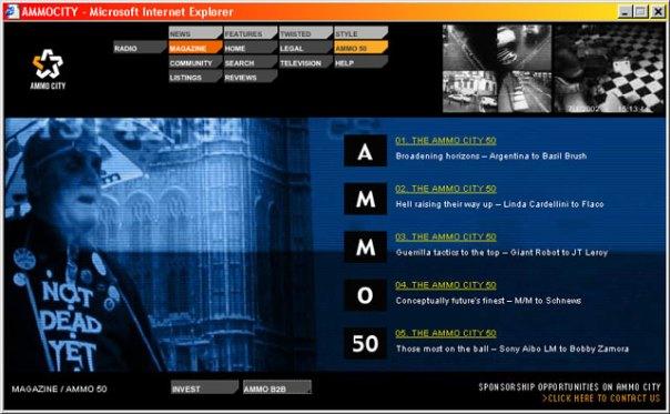 Ammocity - Magazine Ammo50 index section