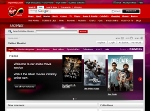 Virgin Media Online Movies - home page