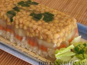 Aspic de Garbanzos