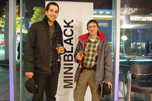 Alberto y yo en el photocall