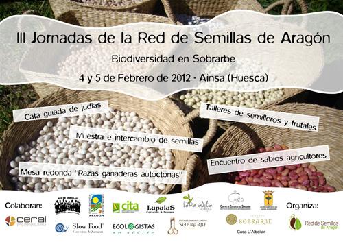 Biodiversidad en Sobrarbe, III Jornadas de la Red de Semillas de Aragón