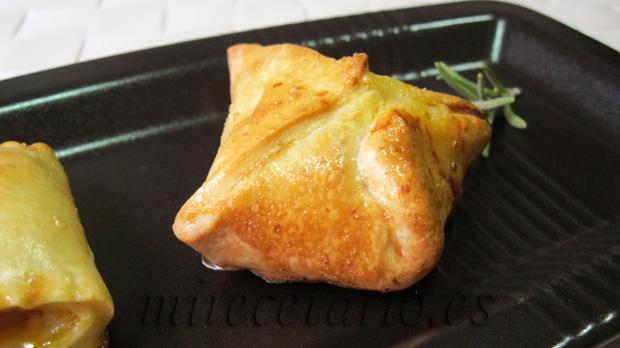 Paquetitos de empanadilla.