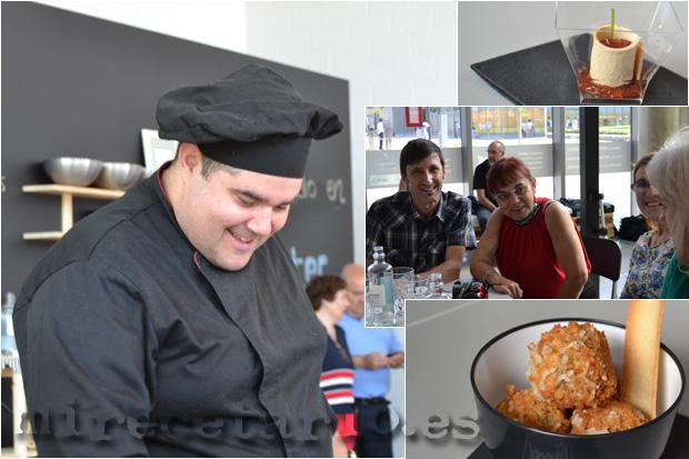 Hugo López. Tapas con sabor, Escuela de cocina Azafrán