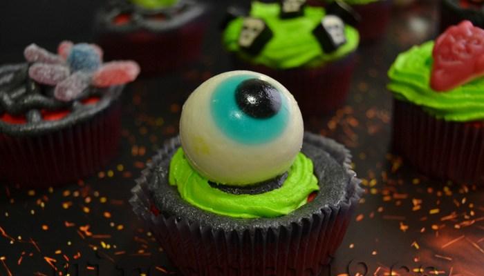 Cupcakes fáciles para Halloween