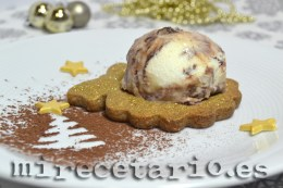 Galletas de café con helado de Zabaglione