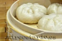 Pan chino al vapor Baozi