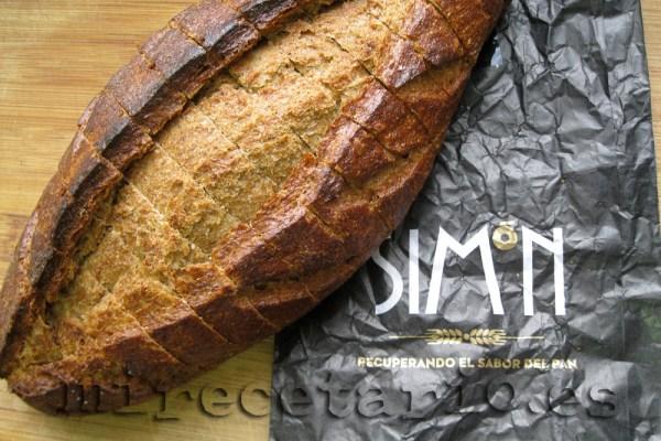 Pan de centeno artesano