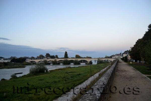 Río Loira a su paso por Amboise