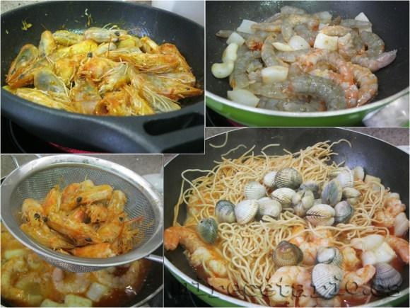 Elaboración paso a paso del wok