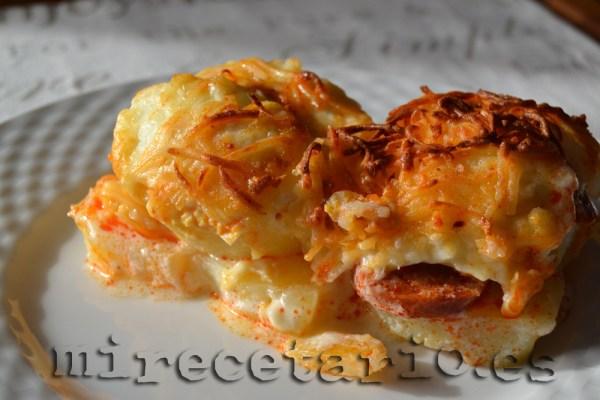 Un pedacito de Rakott Krumpli