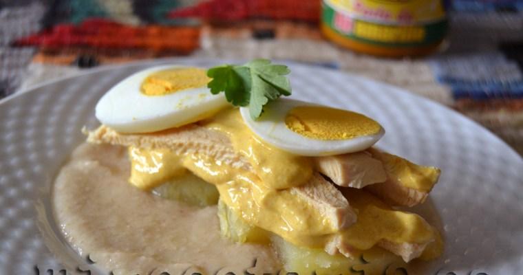 Aji de gallina peruano de Gastón Acurio {Cooking the Chef}