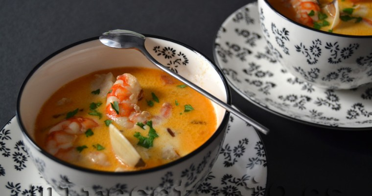 Seafood Chowder {Irlanda}