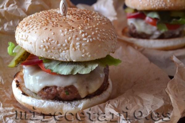 Hamburguesa de Jamie Oliver