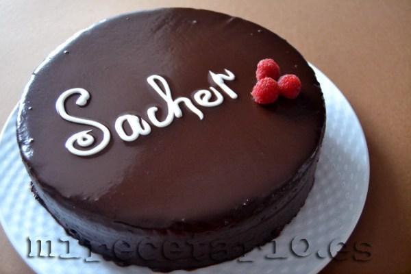 Tarta Sacher casera