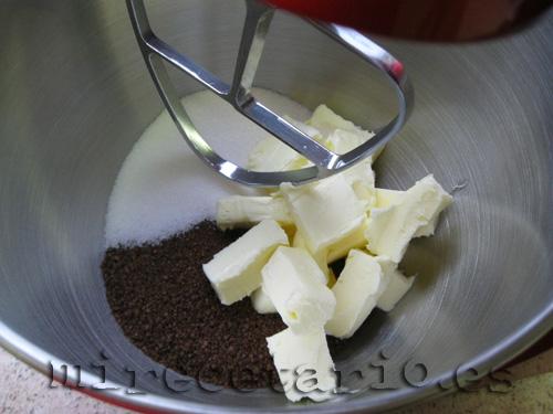 Mantequilla y azúcares