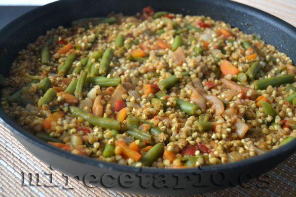 Paella de Trigo Sarraceno