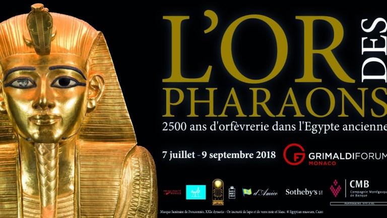 L'Or des Pharaons au Grimaldi Forum Monaco