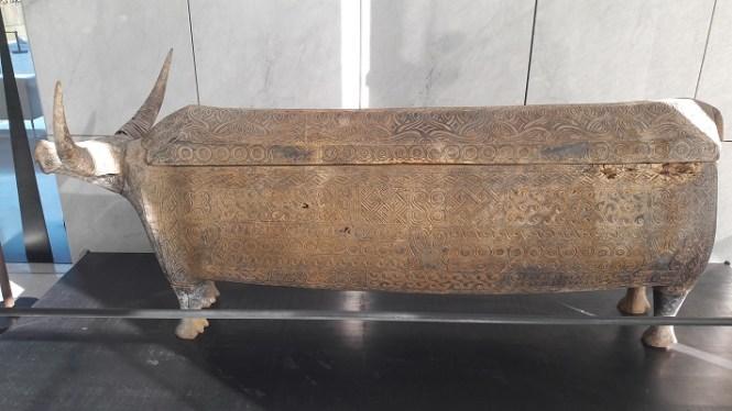 ossuaire en forme de buffle