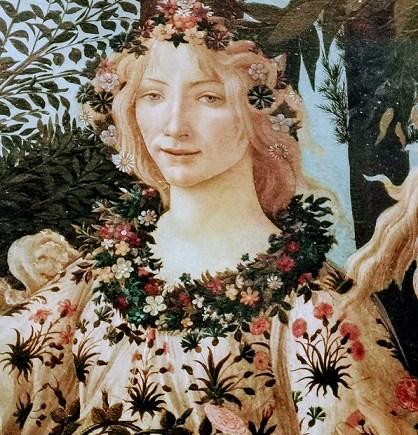 offices des galerie laSandro Botticelli à la Galerie des Offices à Botticelli Sandroprinte