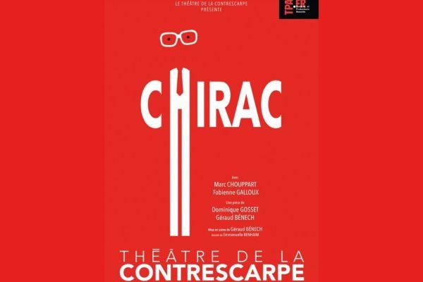 «Chirac» au théâtre de la Contrescarpe