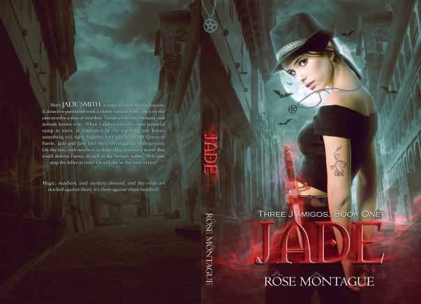 BOOK | ROSE MONTAGUE - BOOK COVER 1 JADE