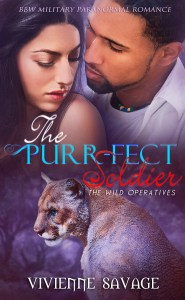 E-BOOK | VIVIENNE SAVAGE 3 - THE PURRFECT SOLDIER