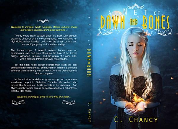 BOOK | C CHANCY - A NET OF DAWN AND BONES