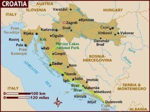Descobrindo a Croácia em 8 dias