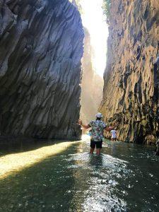 Gole dell'Alcantara ou Alcantara Gorges