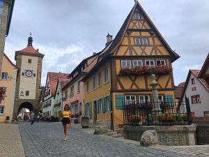 estrada romântica da Alemanha - Rothenburg od der Tauber