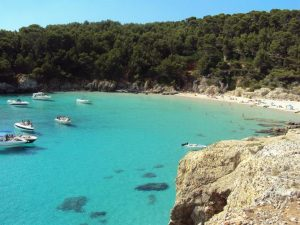 as praias mais belas de menorca