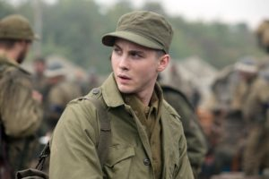 Norman Ellison (Logan Lerman) in Columbia Pictures' FURY.