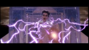 G-2498 - Gozer Fires lightning at the Ghostbusters