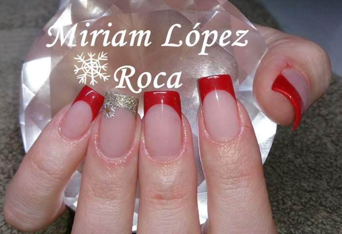 Rojo Y Dorado Miriam Dream Nails