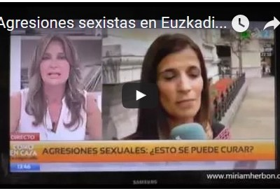 Agresiones sexistas en Euskadi