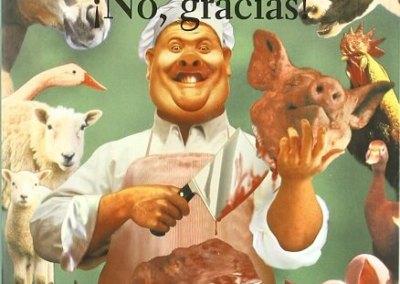 ¿Carne? ¡No, gracias!