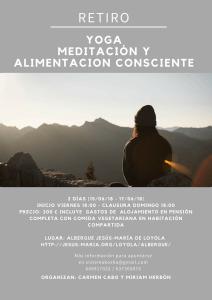 Retiro Yoga, Meditación y Alimentación Consciente