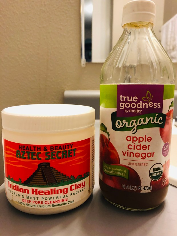 ztec Healing Clay and Apple Cider Vinegar