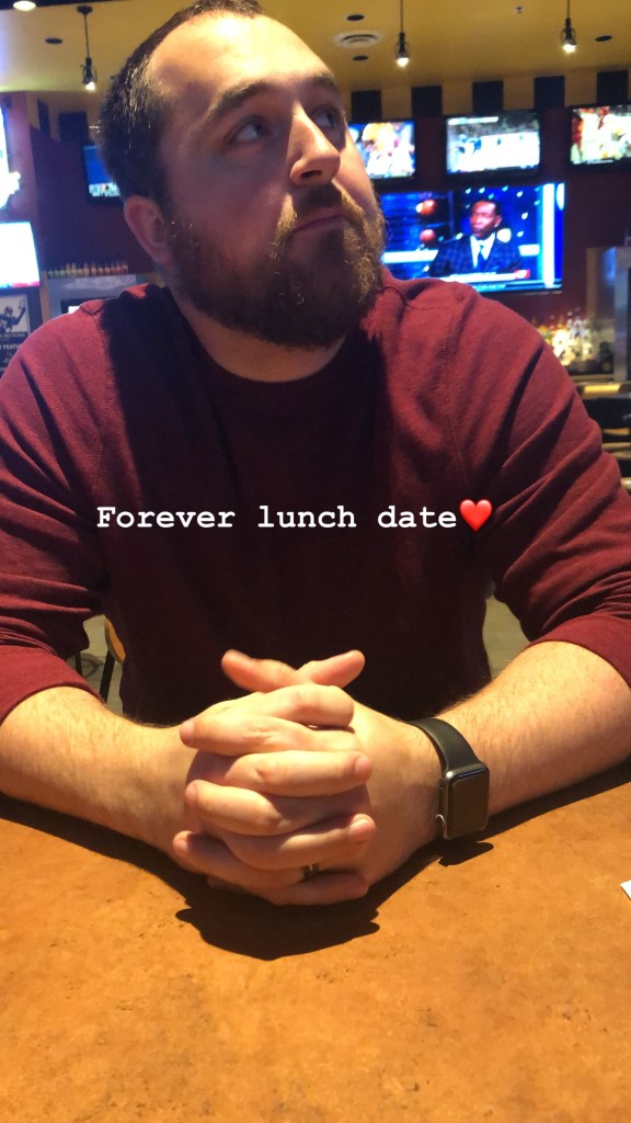 My forever lunch date