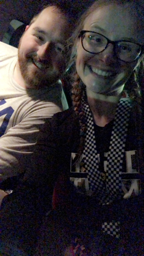 Post half marathon selfie