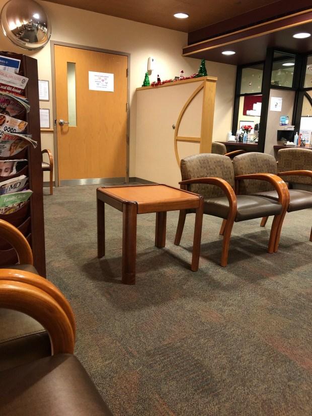 MRI waiting room