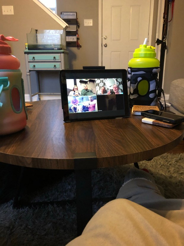 Family Zoom meeting