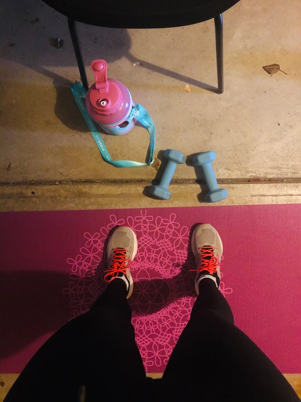 At home work out