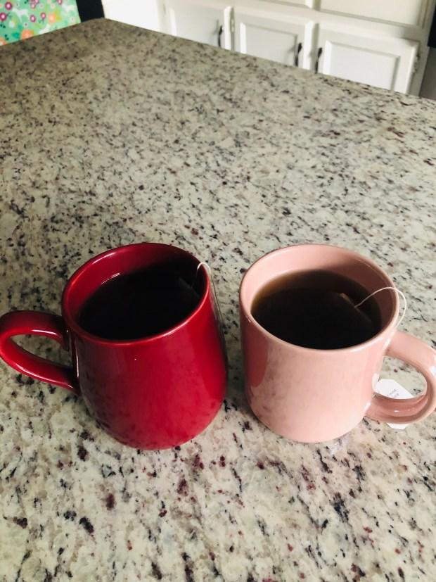 Kava tea in kitchen