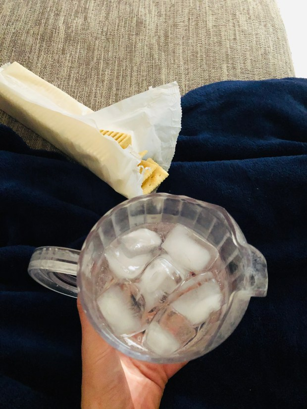 Sprite and saltines