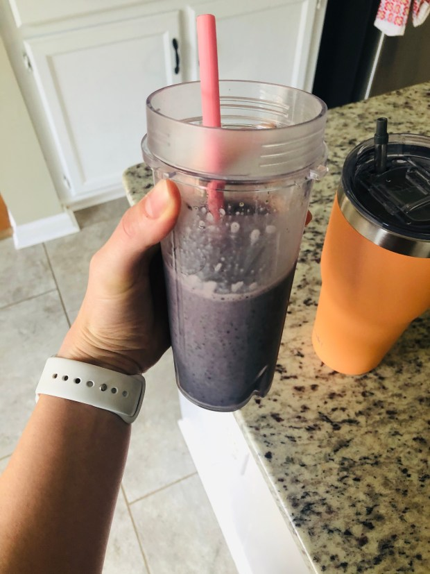 Breakfast protein smoothie